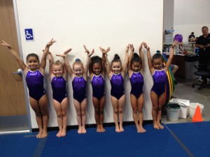 Our adorable Level 2 Group!